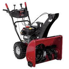 red craftsman snowblower